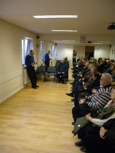 Prezentacija, Prva građanska udruga za sjajne pogrebe i posmrtnu pripomoć
